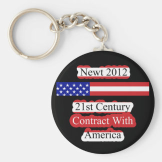 Newt 2012 - 21st Century Contract With America Keychain