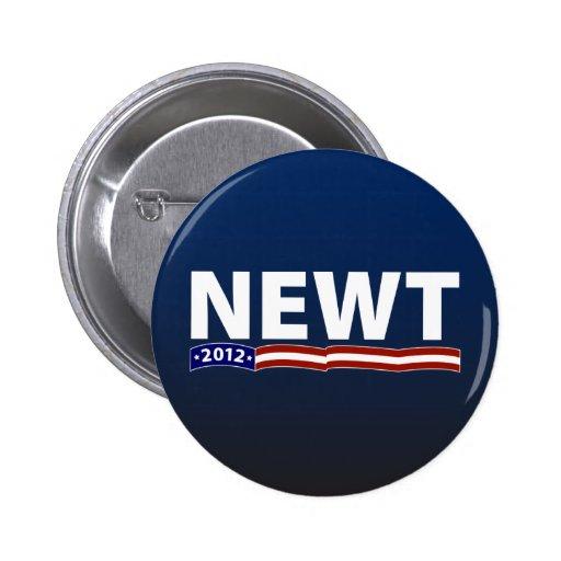 Newt 2012 2 inch round button