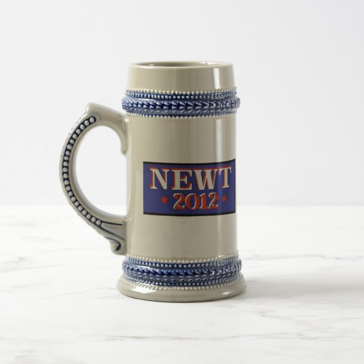 Newt 2012 Blue Coffee Mug