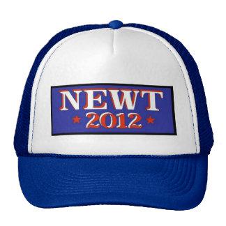 Newt 2012 Blue Trucker Hat