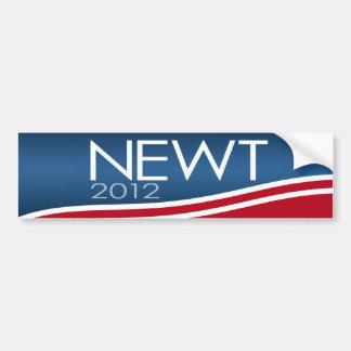 Newt 2012 Campaign Gear Car Bumper Sticker