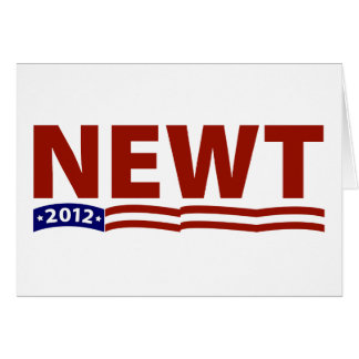 Newt 2012 card