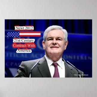 Newt 2012 - contrato del siglo XXI con América Impresiones