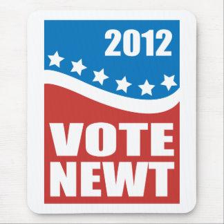 Newt 2012 del voto mousepad