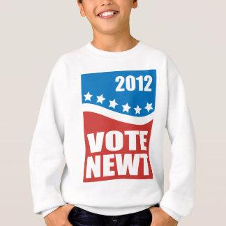 Newt 2012 del voto sudadera