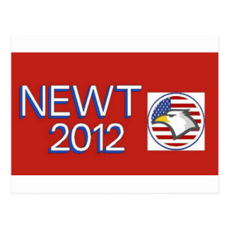 Newt 2012 Eagle Postcard
