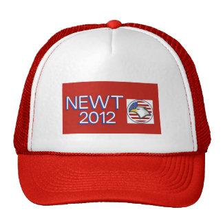 Newt 2012 Eagle Trucker Hat