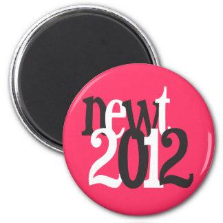 newt 2012 fridge magnet