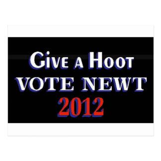 Newt 2012 GAH Postal
