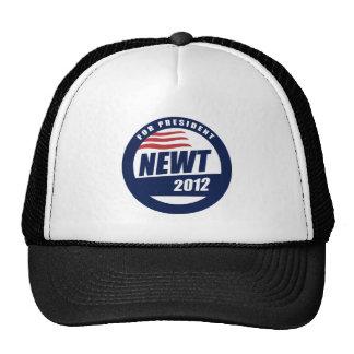 Newt 2012 gorras de camionero