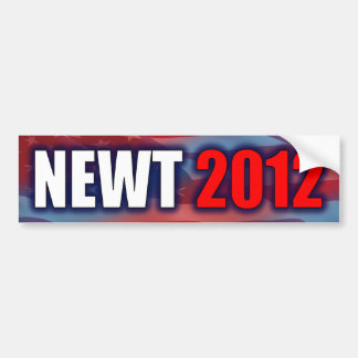 Newt 2012 - Newt Gingrich Bumper Sticker