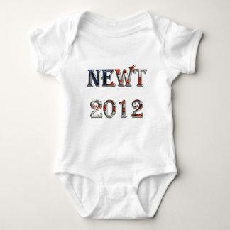 Newt 2012 - Newt Gingrich for President Baby Bodysuit