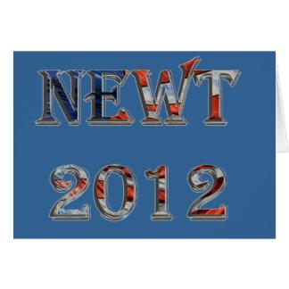 Newt 2012 - Newt Gingrich for President Card