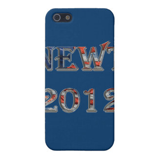 Newt 2012 - Newt Gingrich for President Cover For iPhone 5