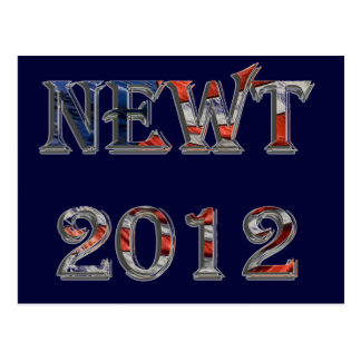 Newt 2012 - Newt Gingrich for President Postcards