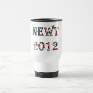Newt 2012 - Newt Gingrich para el presidente Taza De Viaje