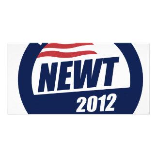 Newt 2012 photo greeting card
