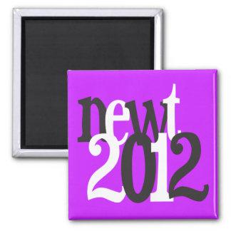 newt 2012 refrigerator magnets