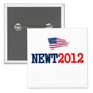 Newt 2012 RW&B Pin