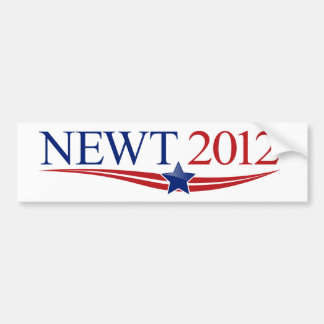 Newt 2012 Swag Car Bumper Sticker