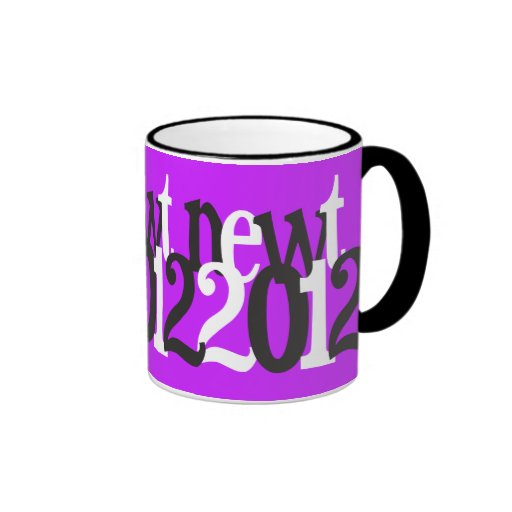 newt 2012 taza de dos colores