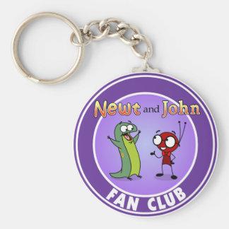NEWT AND JOHN FAN CLUB - KEYCHAIN