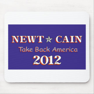 Newt Cain - Take Back America Mouse Pad