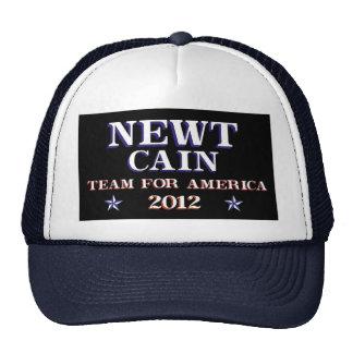 NEWT CAIN - Team for America 2012 Trucker Hat