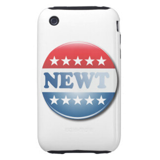 NEWT CAMPAIGN BUTTON TOUGH iPhone 3 COVERS