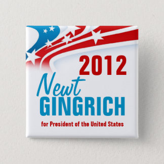 Newt Gingich Button