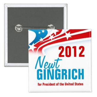 Newt Gingich Button