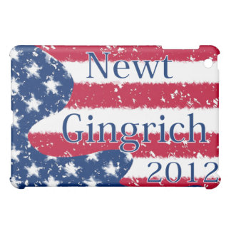 Newt Gingrich 2012 Altered US Flag Case For The iPad Mini