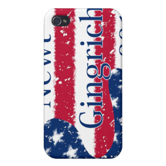 Newt Gingrich 2012 Altered US Flag iPhone 4/4S Cover