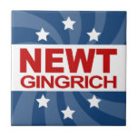 Newt Gingrich 2012 Azulejos Cerámicos