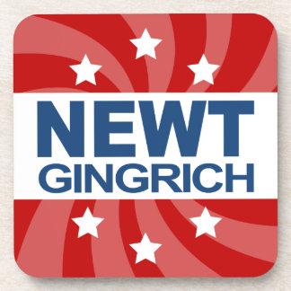 NEWT Gingrich 2012 Beverage Coasters