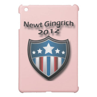 Newt Gingrich 2012 black Cover For The iPad Mini