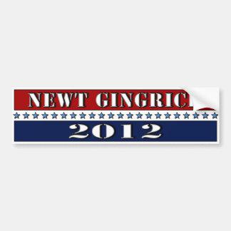Newt Gingrich 2012 - bumper sticker
