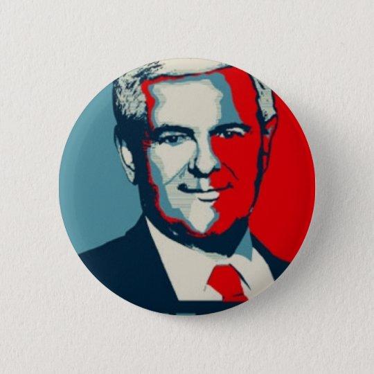 Newt Gingrich 2012 Button