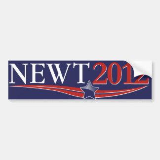 Newt Gingrich 2012 Etiqueta De Parachoque