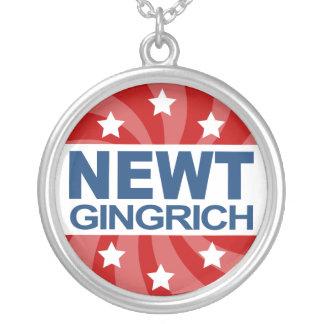 Newt Gingrich 2012 Colgante Redondo
