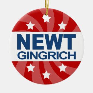Newt Gingrich 2012 Adorno De Navidad