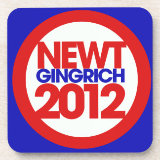 Newt Gingrich 2012 Drink Coasters