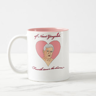 Newt Gingrich 2012 - Future Wife of Newt Gingrich Two-Tone Coffee Mug