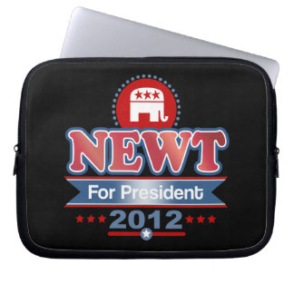 NEWT Gingrich 2012 Laptop Computer Sleeves