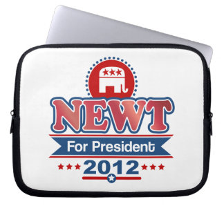 NEWT Gingrich 2012 Laptop Sleeve