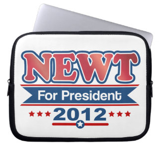 NEWT Gingrich 2012 Laptop Sleeves