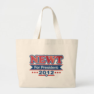 NEWT Gingrich 2012 Large Tote Bag