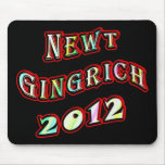 NEWT GINGRICH 2012 MOUSE PAD
