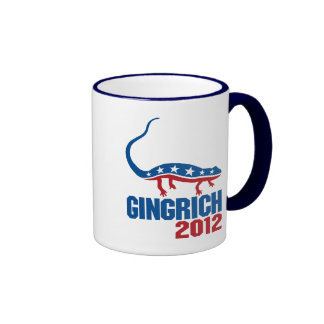 Newt Gingrich 2012 Taza