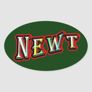 Newt Gingrich 2012 Oval Sticker